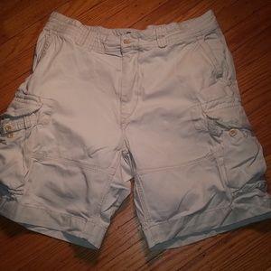 Polo Ralph Lauren Beige Cargo Shorts Men's Size 36
